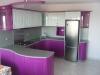Кухня лилав гланц