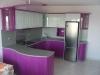 Кухня лилав гланц 3
