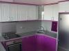 Кухня лилав гланц 1
